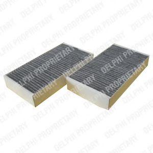 DELPHI DB Фильтр салона уголь! (2шт.) X164,W164 06- DELPHI TSP0325199C
