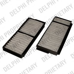 DELPHI MAZDA Фильтр салона уголь! (2шт.) 3,5 03- DELPHI TSP0325202C