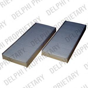 DELPHI NISSAN Фильтр салона (2шт.) Pathfinder Navara 05- DELPHI TSP0325262