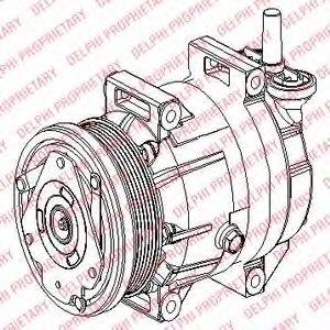 Компресор кондиціонера DELPHI TSP0155953