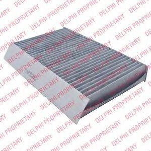 DELPHI RENAULT Фильтр салона уголь! Megane III 08- DELPHI TSP0325315C