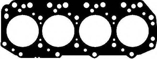 Прокладка ГБЦ  арт. 615267520
