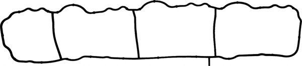 Прокладка, впускной коллектор  арт. 714043600