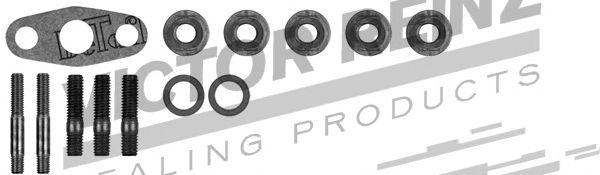 Турбокомпрессор Монтажний комплект турбіни MB Sprinter OM602 95-06 REINZ арт. 041006301