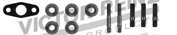 Турбокомпрессор Монтажний комплект турбіни MB Vito (638) 110 2,3TD 96-03 REINZ арт. 041006701