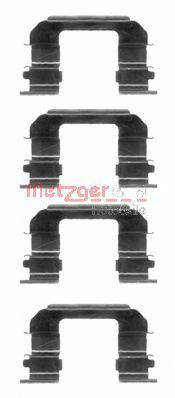 Комплектующие, колодки дискового тормоза  арт. 1091287