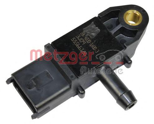 Датчик давления выхлопных газов Датчик тиску, випускний газопровід METZGER арт. 0906027