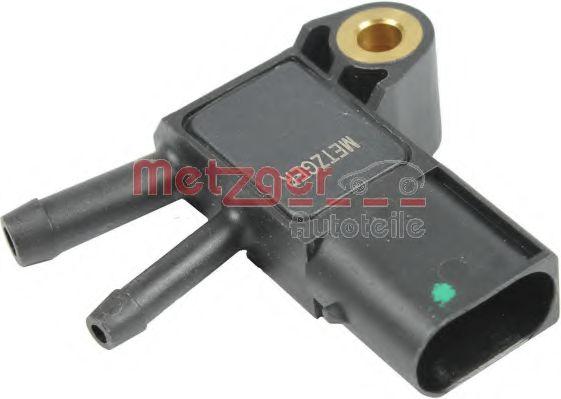 Датчик давления выхлопных газов Датчик тиску, випускний газопровід METZGER арт. 0906215