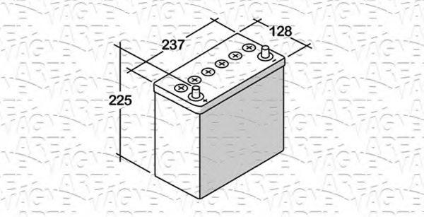 Стартерная аккумуляторная батарея  арт. 068045030060