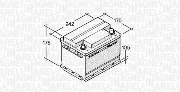 Стартерная аккумуляторная батарея  арт. 067129000003