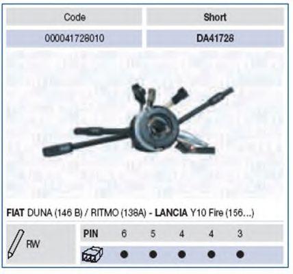Выключатель на колонке рулевого управления  арт. 000041728010