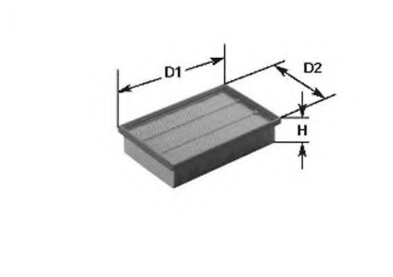 Воздушный фильтр BOSCH арт. 153071760137