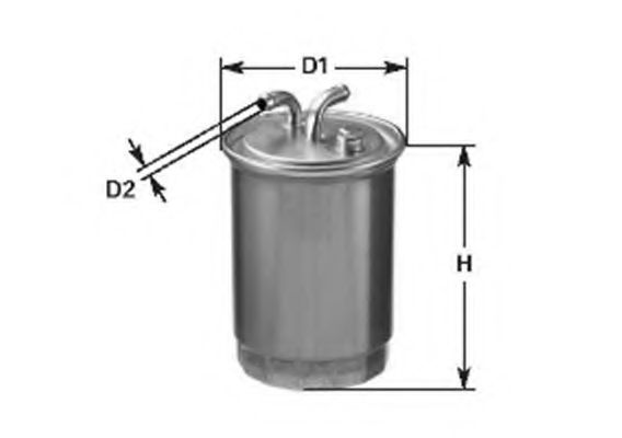 Топливный фильтр  арт. 152071760562