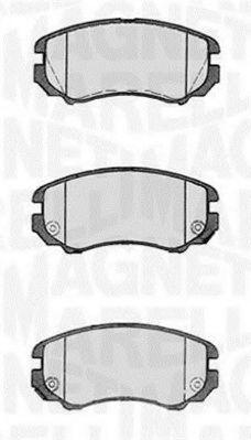 Комплект тормозных колодок, дисковый тормоз  арт. 363916060277