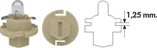 Лампа накаливания PBX4 12V 1.5W BX8.4D (пр-во Magneti Marelli)                                       в интернет магазине www.partlider.com